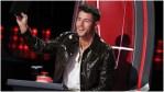 Nick Jonas stars on The Voice.