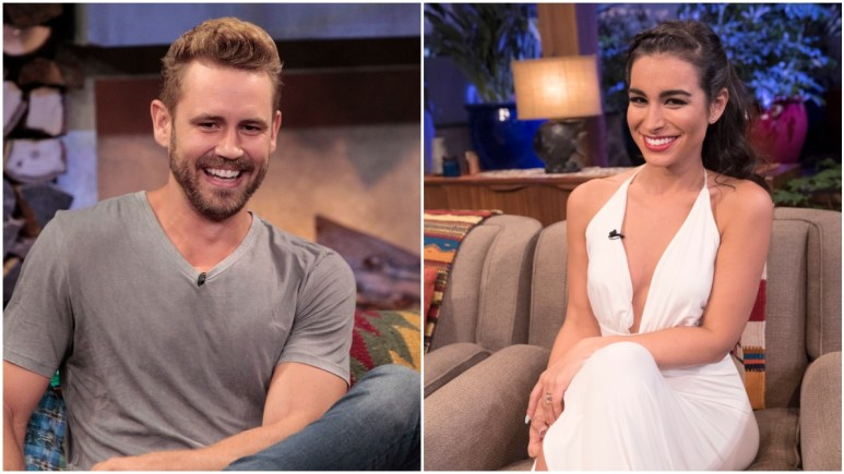 Nick Viall and Ashley Iaconetti are part of The Bachelor franchise.