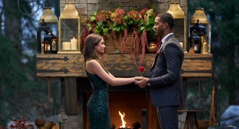 Rachael Kirkconnell and Matt James appeared on The Bachelor.