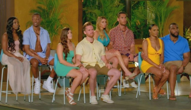 The four couples from Season 2 of Temptation Island