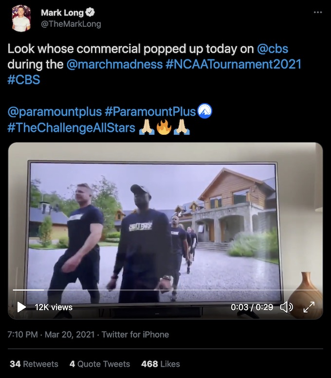 the challenge mark long tweet with all stars promo clip