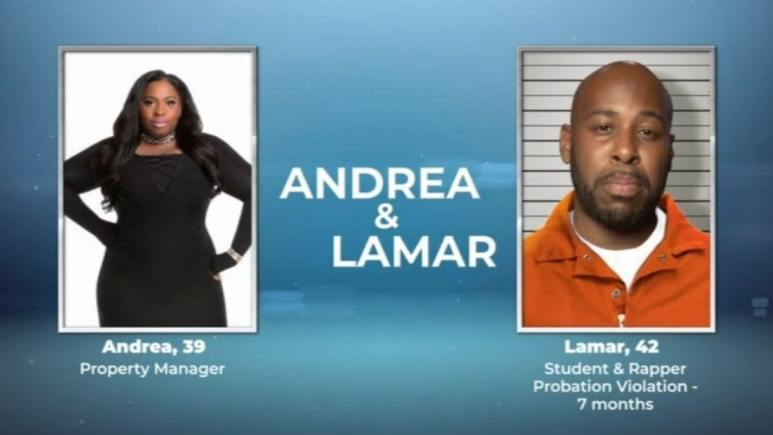Andrea and Lamar from Love After Lockup