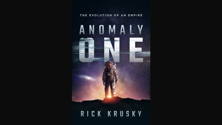 Cover of Krusky's novel Anomaly One