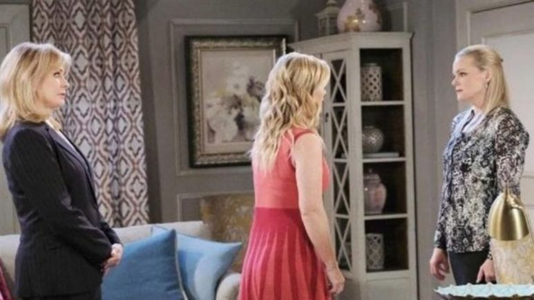 Days of our Lives spoilers reveals Belle accuses Sami of setting her up.