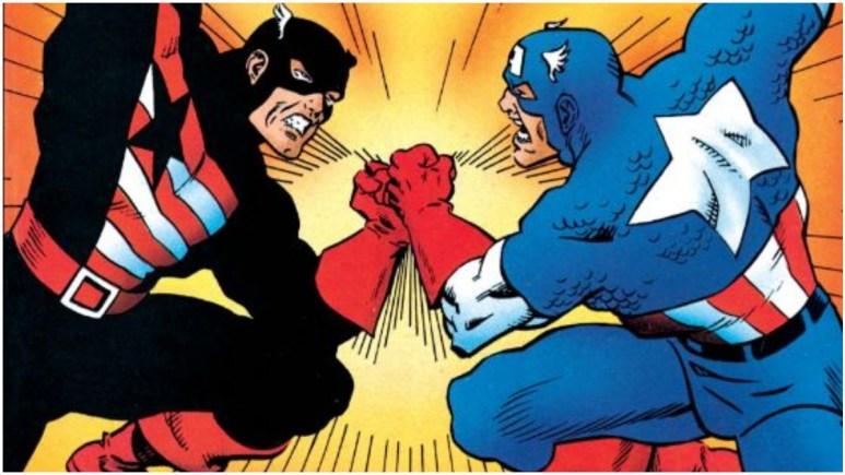Captain America vs John Walker