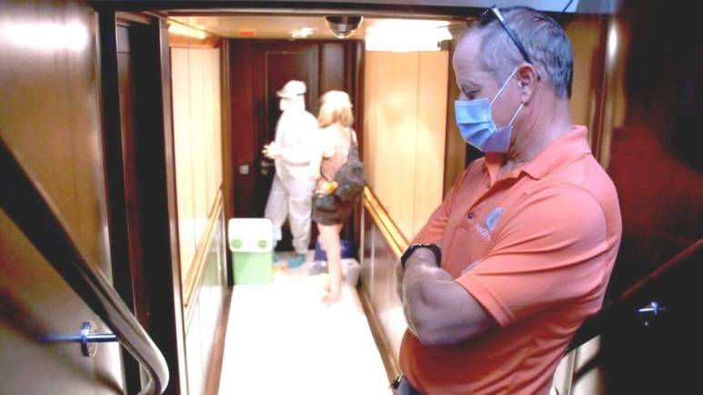 Captain Glenn from Below Deck Sailing Yacht dishes COVID-19 scare on yacht.