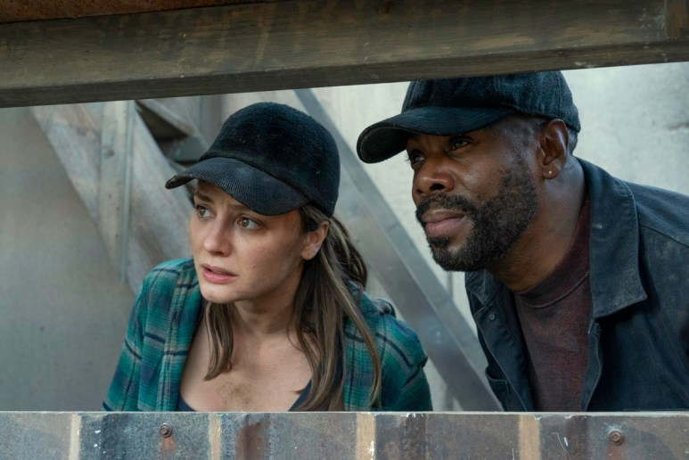 Christine Evangelista as Sherry and Colman Domingo as Victor Strand, as seen in Episode 10 of AMC's Fear the Walking Dead Season 6