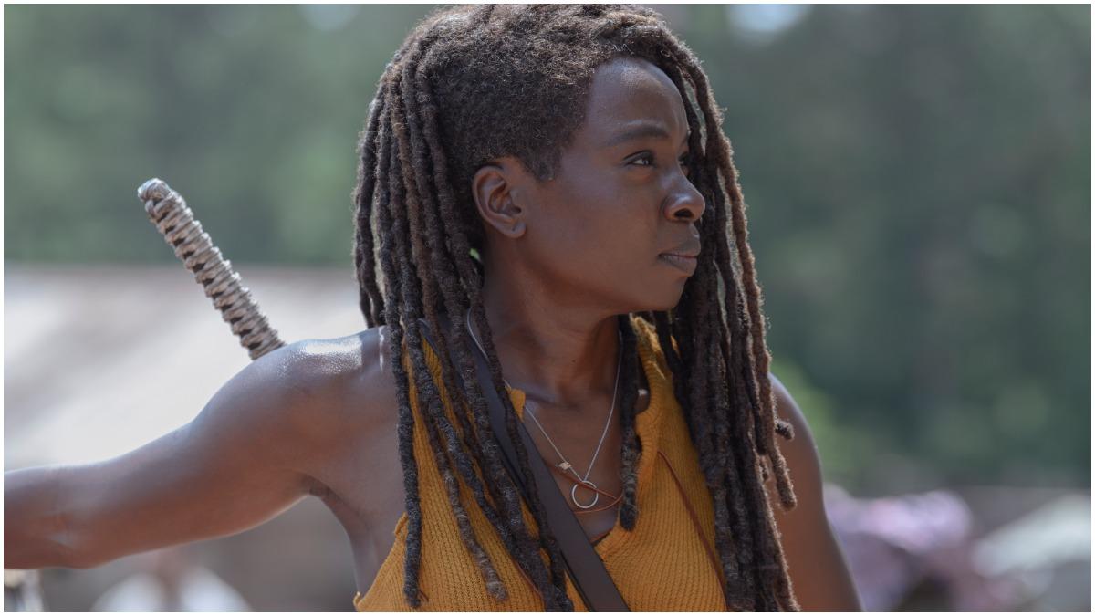 Danai Gurira stars as Michonne, as seen in Episode 4 of AMC's The Walking Dead Season 10
