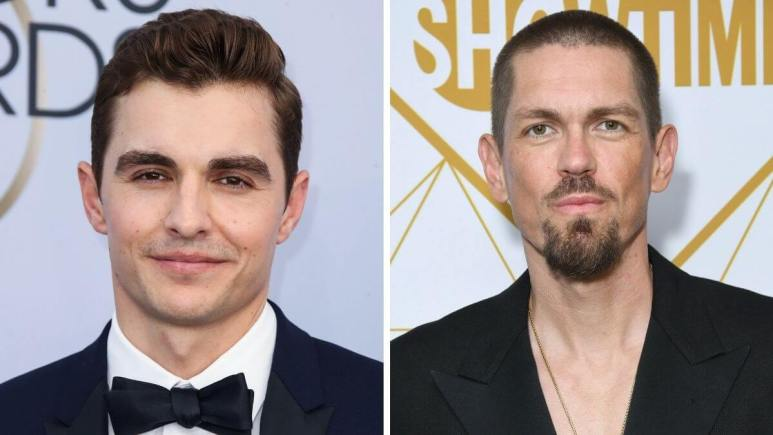 Images of Dave Franco and Steve Howey.