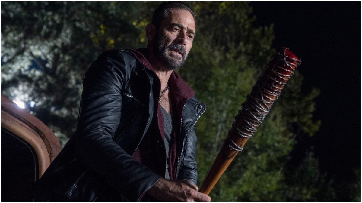 Jeffrey Dean Morgan stars as Negan, as seen in Episode 22 of AMC's The Walking Dead
