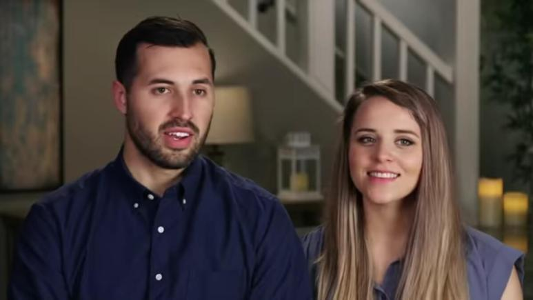Jeremy Vuolo and Jinger Duggar in a Counting On confessional.