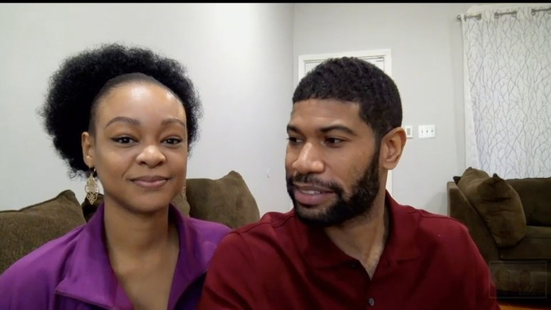 Keith and Kristine from MAFS Couples Cam