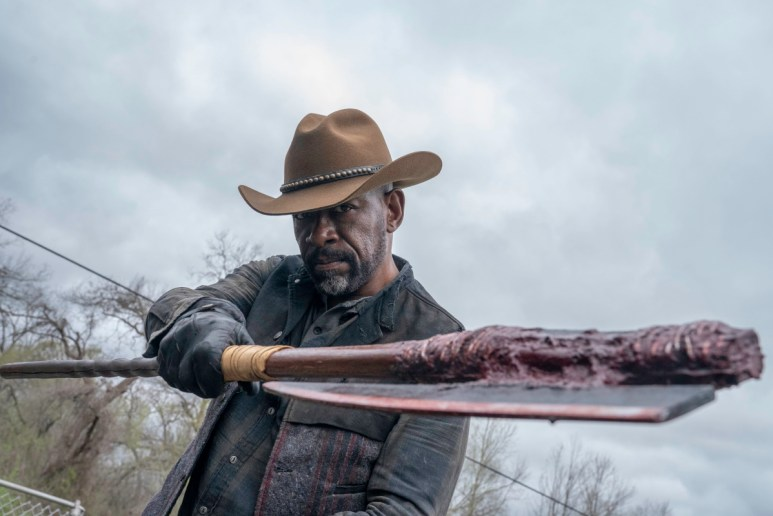 Lennie James stars as Morgan, as seen in Episode 8 of AMC's Fear the Walking Dead