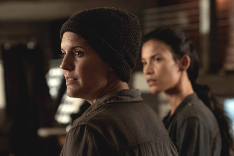Maggie Grace as Althea and Danay Garcia as Luciana, as seen in Episode 11 of AMC's Fear the Walking Dead Season 6