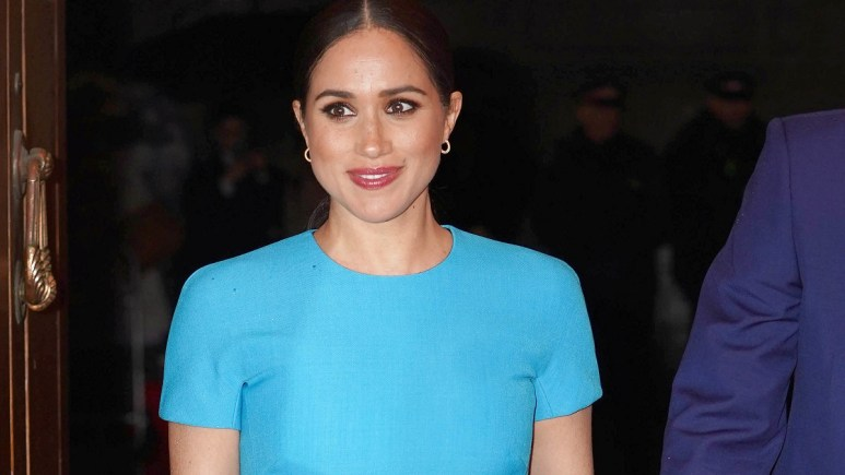 Meghan Markle attends a royal event