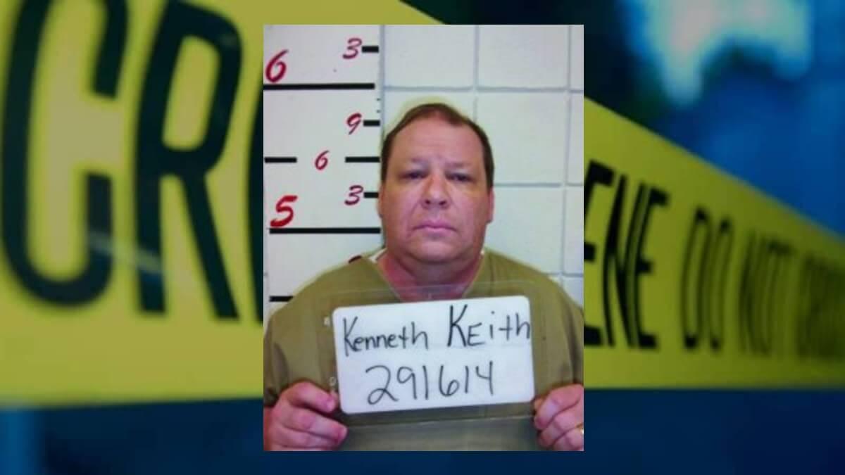 Mugshot of Kenneth Allen Keith