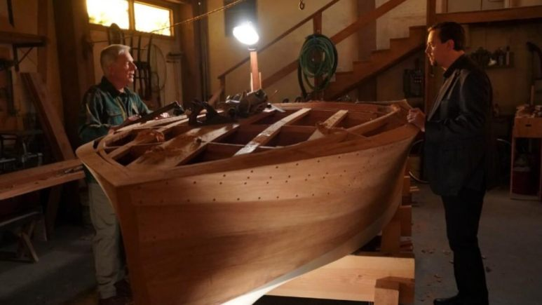 NCIS Gibbs Boat