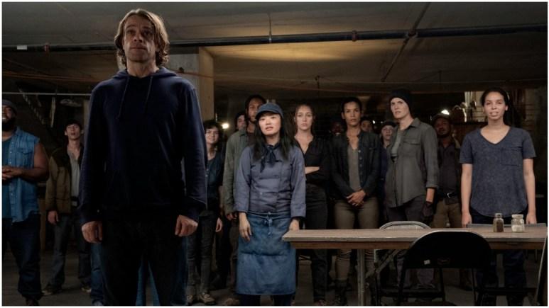 Nick Stahl stars as Riley, as seen in Episode 11 of AMC's Fear the Walking Dead Season 6