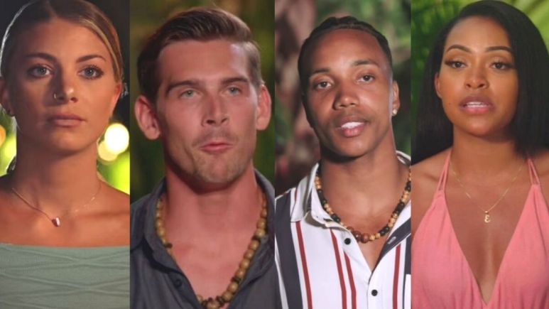 Kendal, Erica, Erin and Corey from Temptation Island