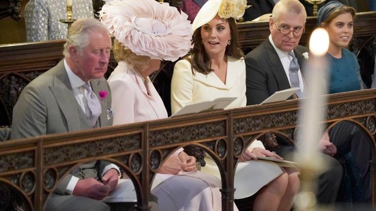 Prince Charles, Camila Duchess of Cornwall, Princess Kate