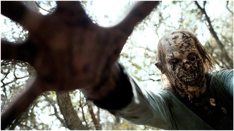 A walker, as seen in Episode 9 of AMC's Fear the Walking Dead Season 6
