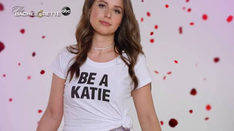 Katie Thurston in the Bachelorette trailer