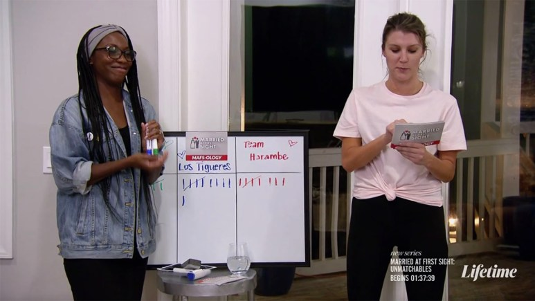 Briana and Haley on Married at First Sight