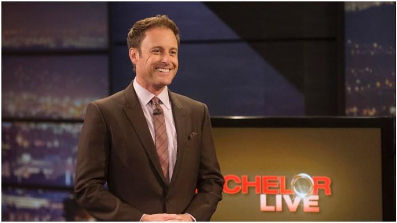 Chris Harrison of The Bachelorette.