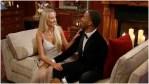 Heather Martin and Matt James on The Bachelor.