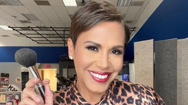 Jovita Moore poses for a selfie on Instagram