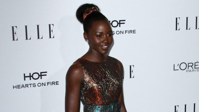 Lupita Nyong'o on the red carpet