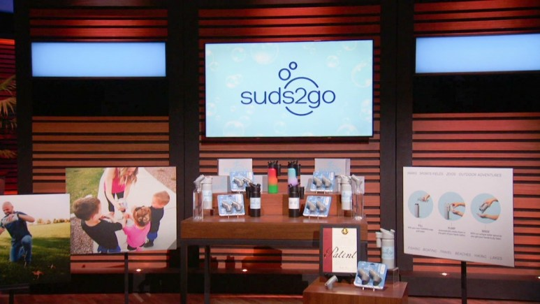 Cindy and Gabe Trevizo will pitch Suds2go on newest Shark Tank episode