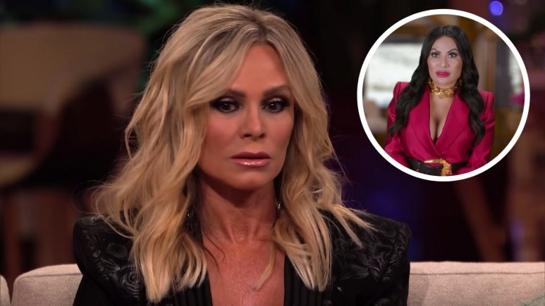 Orange County Housewife Tamra Judge has something to say about Housewives doing illegal stuff while on TV