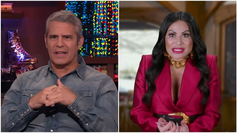 Andy Cohen and Jen Shah