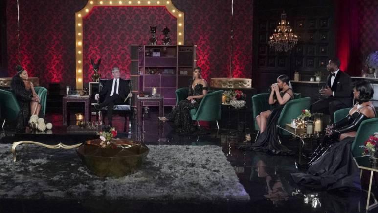 The RHOA cast films for the Season 13 reunion.