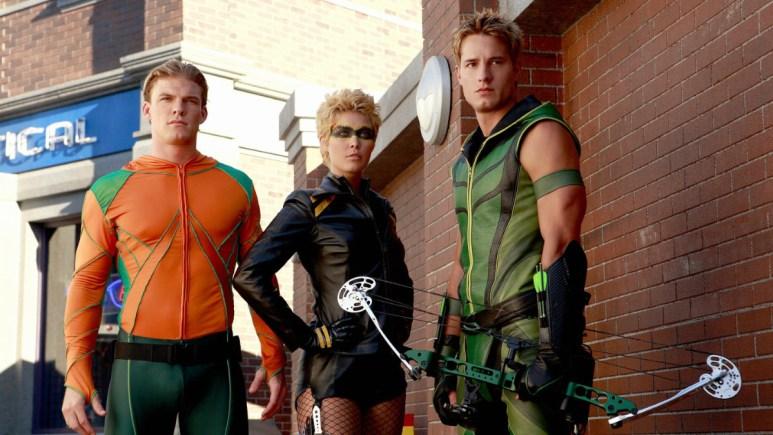 Smallville's Justice League spin-off trio.