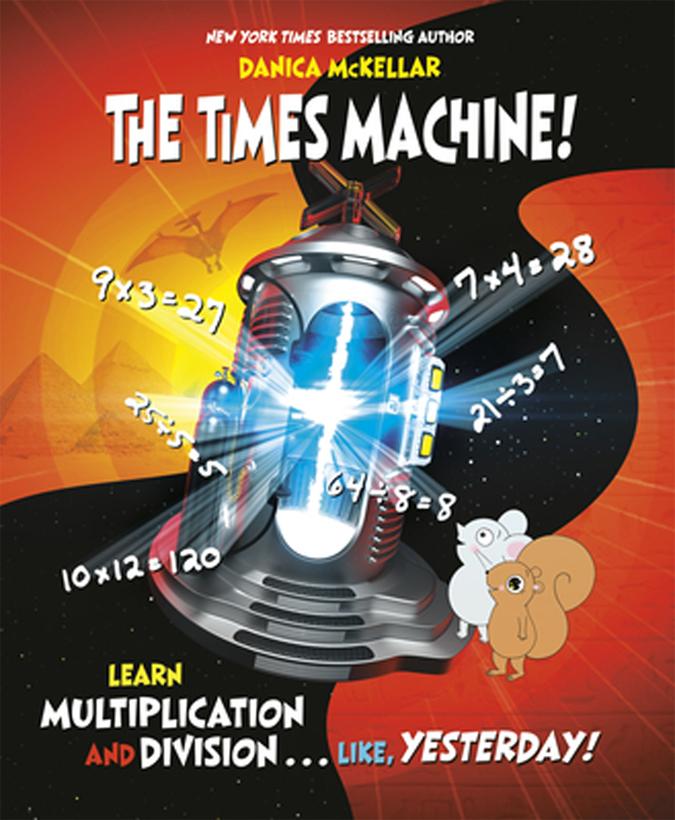 Danica McKellar's book The Times Machine!