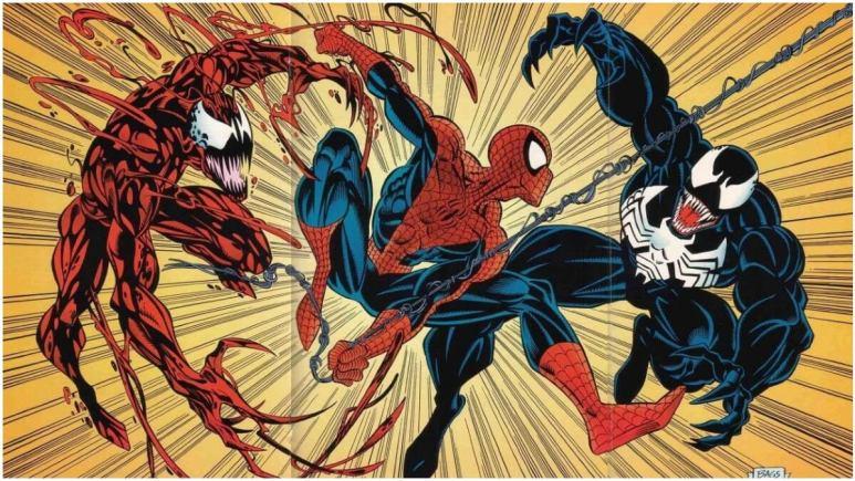 Venom Carnage Spider-Man