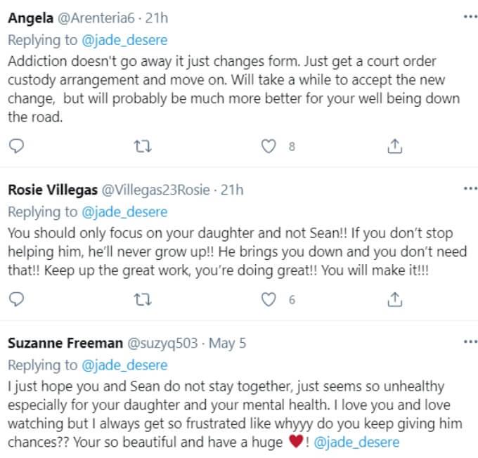 Jade Cline of Teen Mom 2 on Twitter