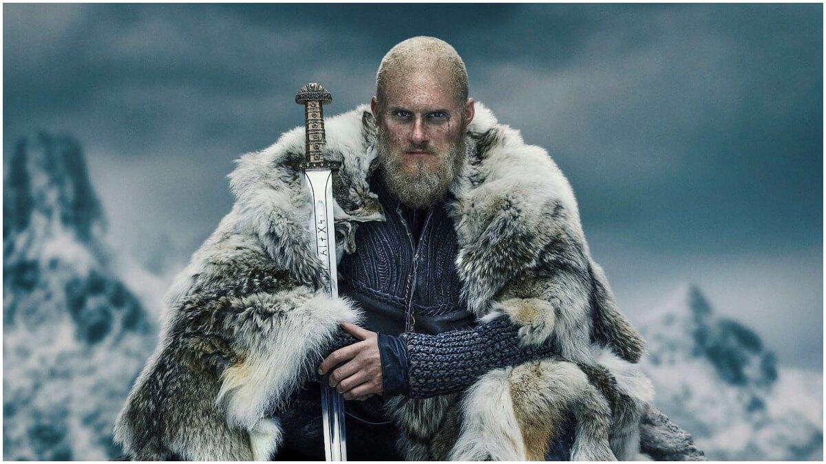 Alexander Ludwig stars as Bjorn Ironside in History Channel's Vikings