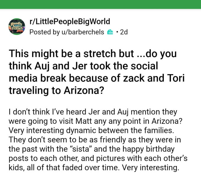 Jeremy and Audrey Roloff formerly of LPBW on Reddit