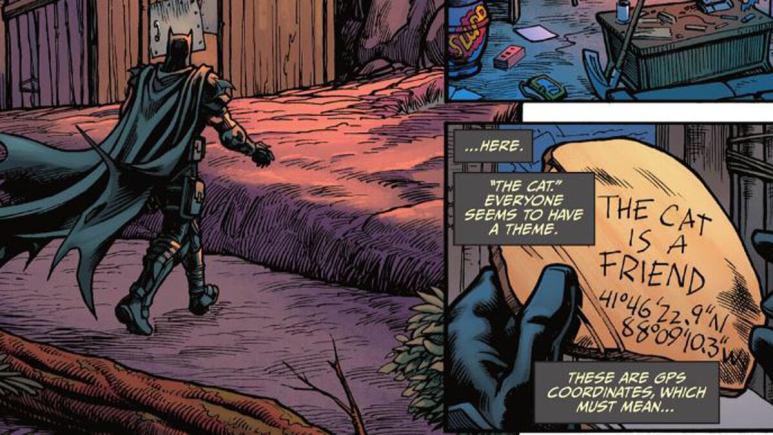 Batman Fortnite coordinates