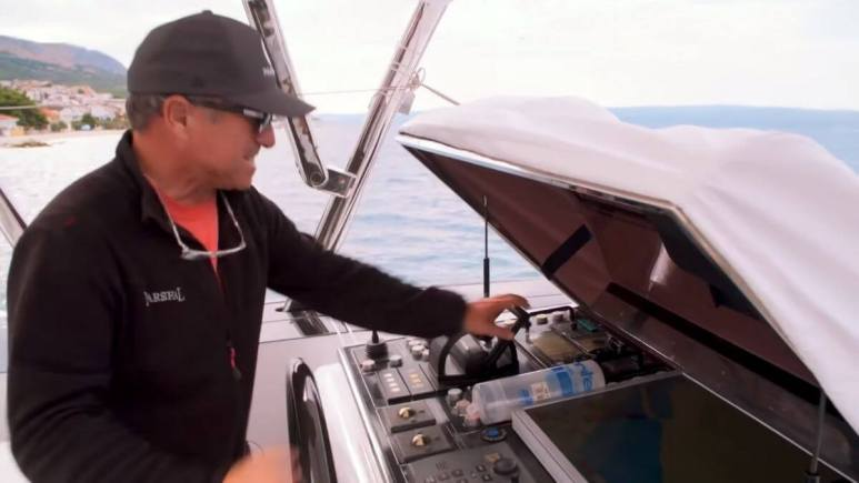 Captain Glenn from Below Deck Sailing Yacht dishes Season 2 crash.