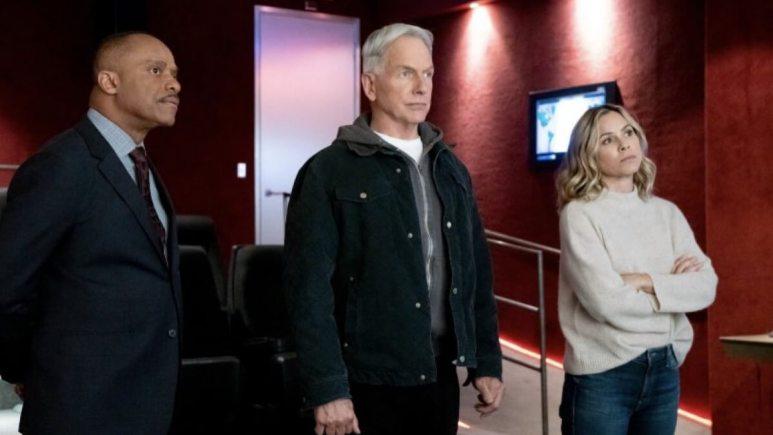 Gibbs On NCIS With Sloane