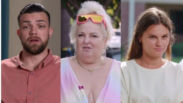 Andrei, Angela, and Julia from Happily Ever After