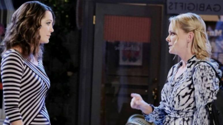 Days of our Lives spoilers tease Jan pits Chloe and Claire against each other.