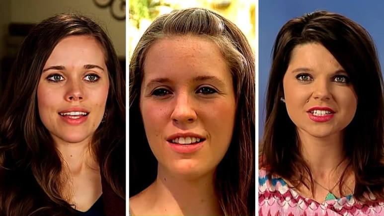 Jessa Seewald, Jill Dillard and Amy King of Counting On