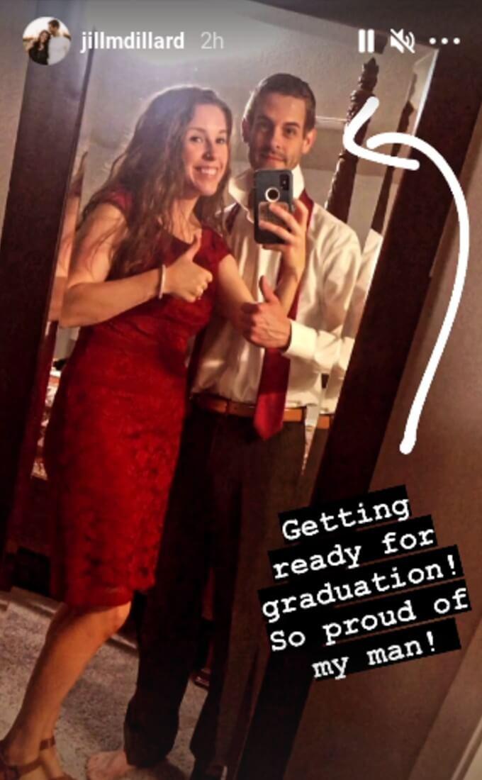 Jill Instagram story