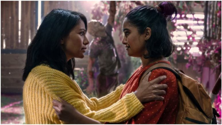 Karen David as Grace and Sahana Sprinivasan as Athena, as seen in Episode 12 of AMC's Fear the Walking Dead Season 6