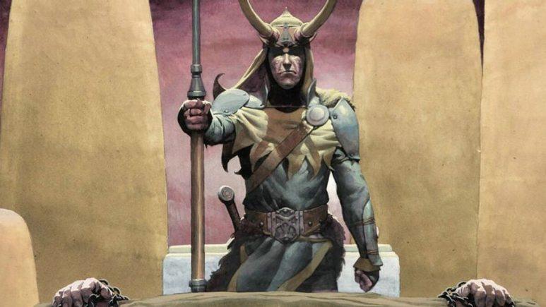King Loki in control in Marvel Comics